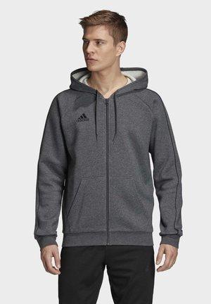 CORE 19 HOODIE - Zip-up hoodie - grey