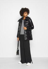 comma casual identity - LANGARM - Down coat - black - 1
