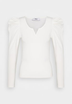 ONLDREAM - Long sleeved top - cloud dancer