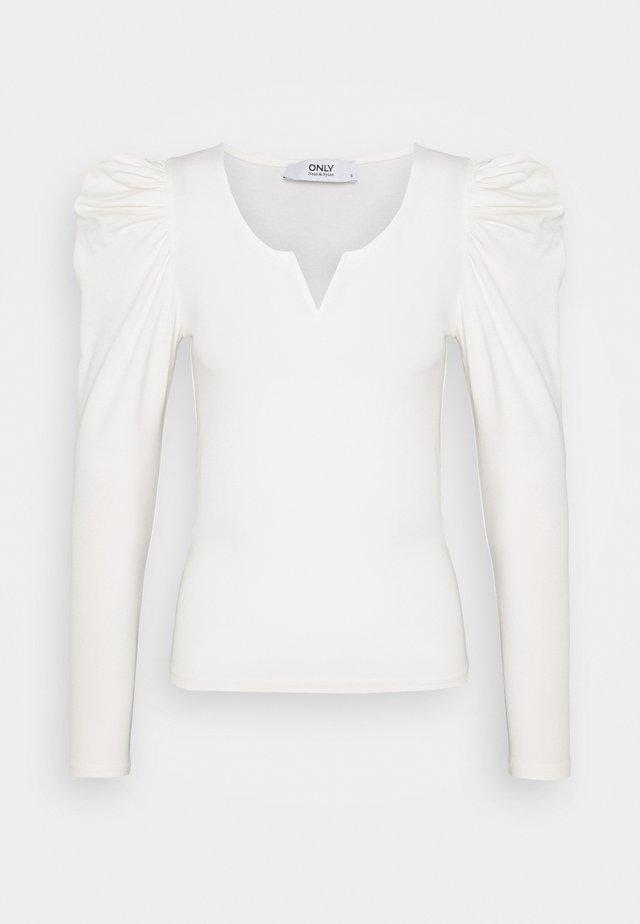 ONLDREAM - Maglietta a manica lunga - cloud dancer
