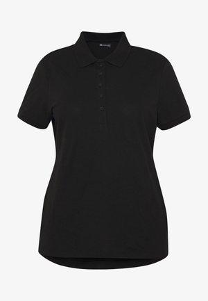 BASIC POLO - Print T-shirt - black