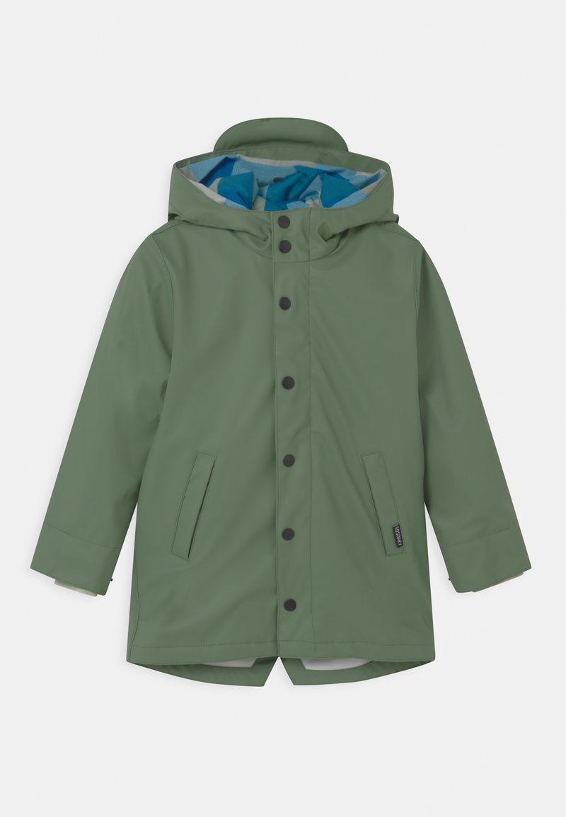 Gosoaky - SNAKE PIT 2-IN-1 UNISEX - Light jacket - sea grass/scuba blue