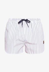 Ellesse - RUGOLO - Shorts da mare - white/navy - 2