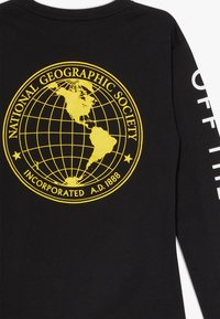 Vans - GEO GLOBE BOYS - Bluzka z długim rękawem - black - 2