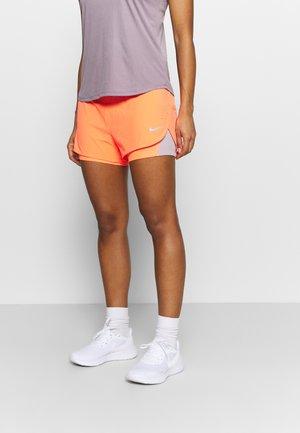 ECLIPSE SHORT - Sports shorts - bright mango/silver