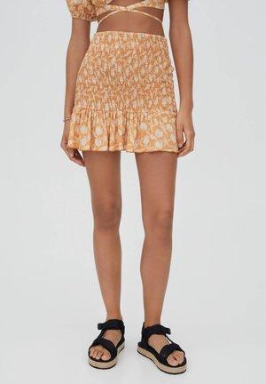 A-snit nederdel/ A-formede nederdele - orange