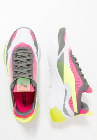 Puma - LQDCELL OPTIC XI  - Neutral running shoes - white/ultra gray/fizzy yellow - 1