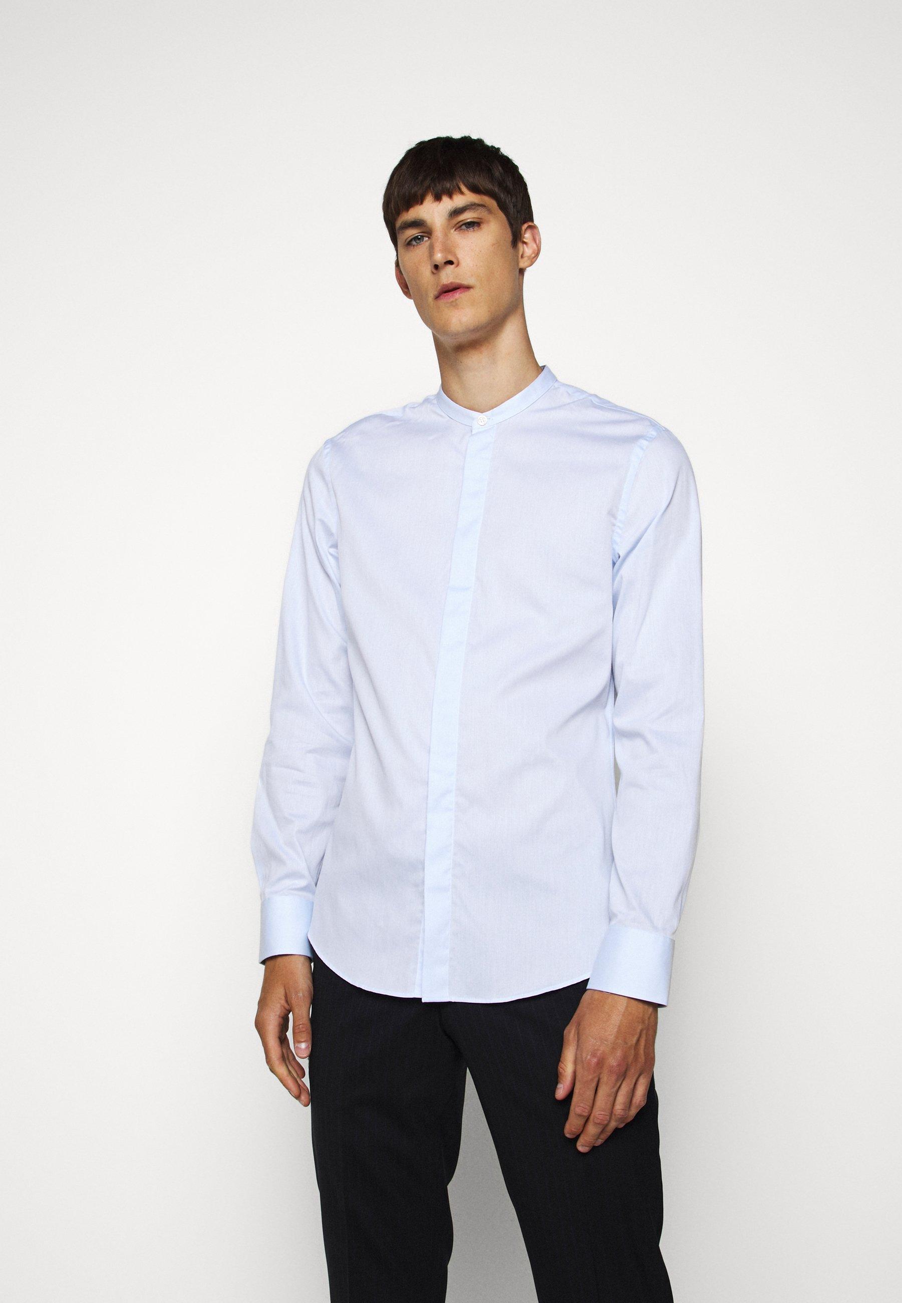 Alta Calidad Ropa de hombre Tiger of Sweden FORWARD Camisa elegante blues lRcRJv
