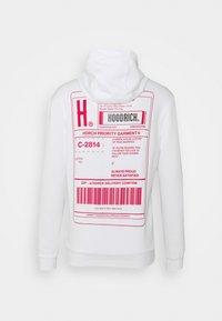 Hoodrich - EXPRESS HOODIE - Hoodie - white/red - 1