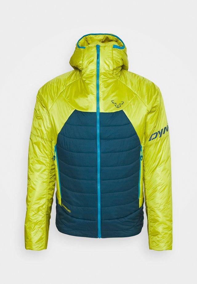 RADICAL 3 HOOD - Winter jacket - moss