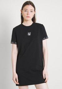 SIKSILK - CORE TECH DRESS - Jersey dress - black - 3