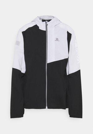 BONATTI TRAIL  - Hardshell jacket - ebony/white