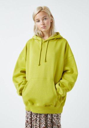 Felpa con cappuccio - evergreen