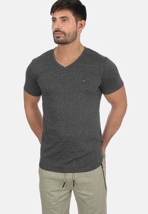 TEDROS - Basic T-shirt - black