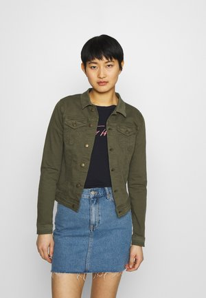 SC-ERNA 2 - Denim jacket - dark army