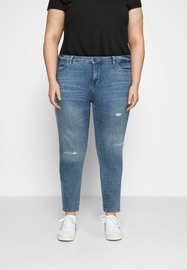 SANNA SHAPE - Skinny džíny - light blue denim