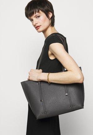 BO TOTE SAFFIANO - Handbag - charcoal