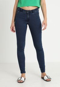 Vero Moda - VMJULIA FLEX IT - Jeans Skinny Fit - dark blue denim - 0