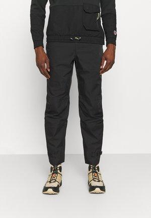 GARNBRET - Outdoorové kalhoty - jet black