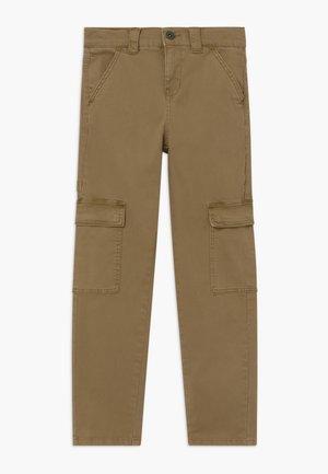 NLMROY TWIBACAS - Cargo trousers - kelp