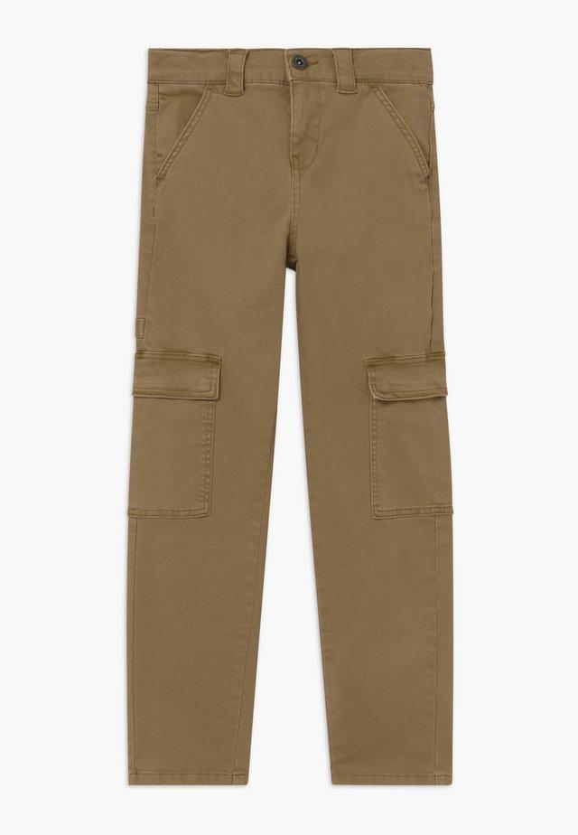 NLMROY TWIBACAS - Pantalones cargo - kelp