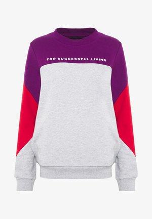 UFLT-PHYLOSH SWEAT-SHIRT - Pyjama top - grey/red/purple