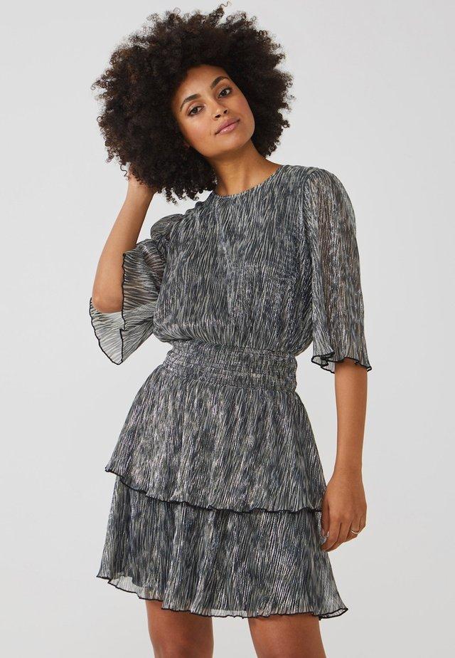 PERIN - Korte jurk - silver
