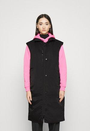TREND VEST - Waistcoat - black/(white)