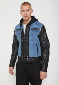 Be Edgy - BEMAX D - Denim jacket - black/indigo - 0