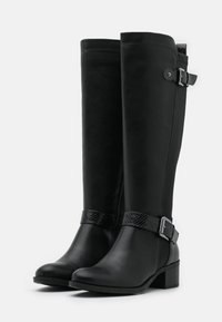 Dorothy Perkins - KABBY KNEE HIGH BOOT - Vysoká obuv - black