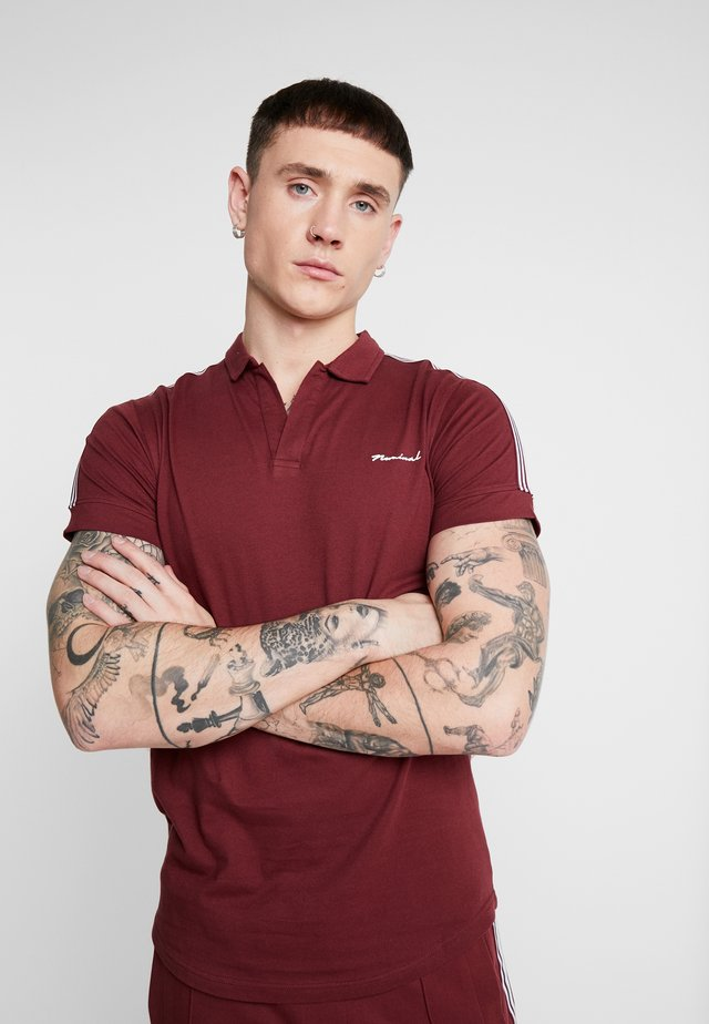 FOSTER - Polo - burgundy