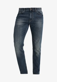 MARVIN - Straight leg jeans - mid stone wash denim blue