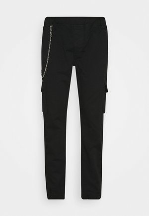 MILFORD TROUSER - Cargo trousers - black