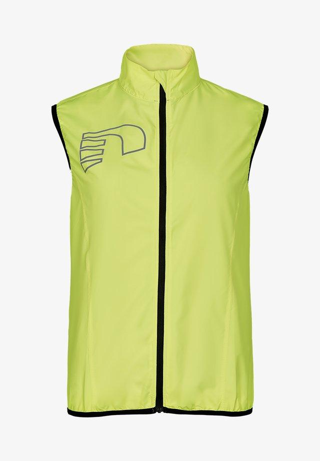 Waistcoat - neon yellow