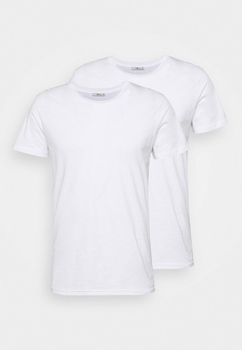 LTB - 2 PACK  - Basic T-shirt - white