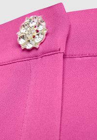 Cras - PAULA PANTS - Spodnie materiałowe - magenta - 2