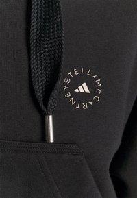 adidas by Stella McCartney - CROPPED HOODIE - Mikina na zip - black - 4