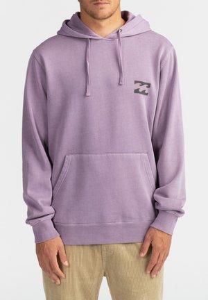 CRAYON WAVE - Hoodie - purple haze