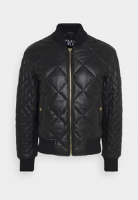 Versace Jeans Couture - Leather jacket - nero - 0