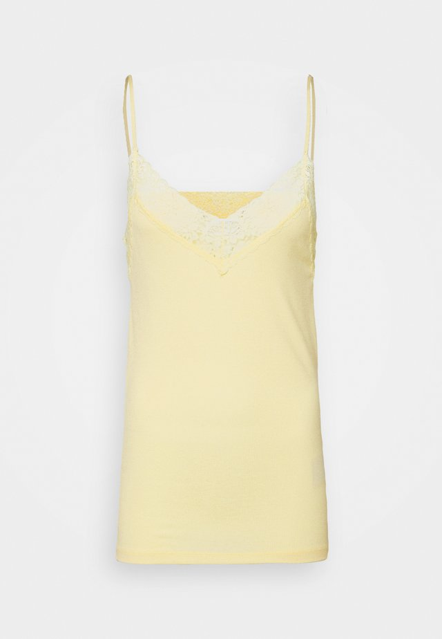 SLFMIO SINGLET  - Top - pastel yellow