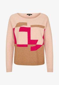comma - Jumper - block stripe knit - 4