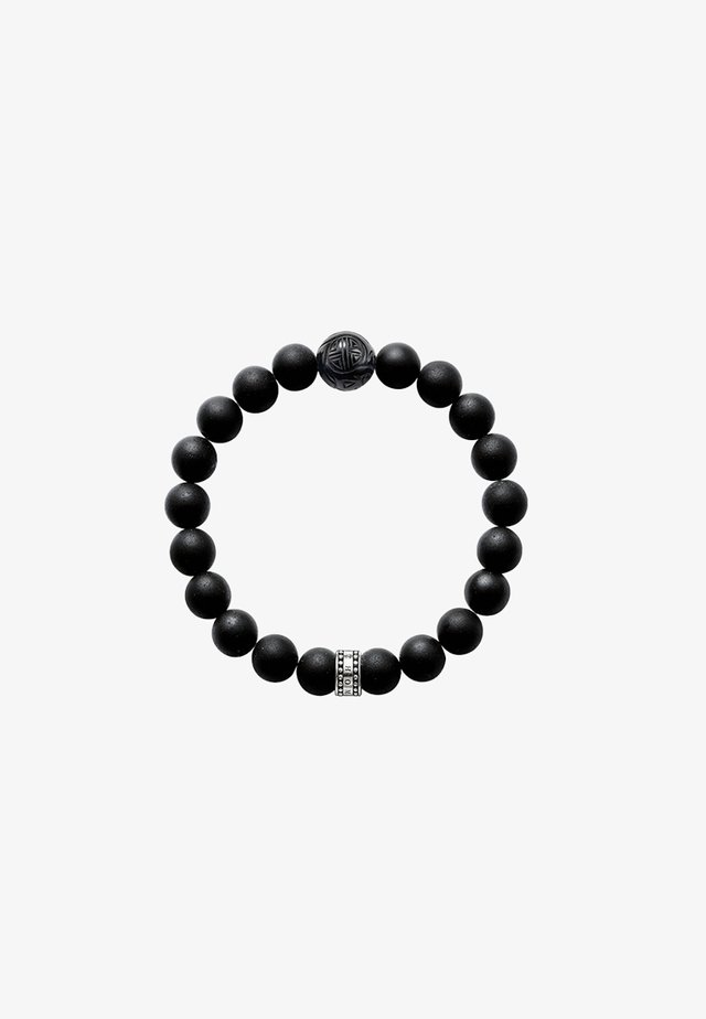Bracelet - silver-coloured/black