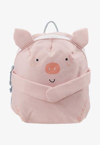 BACKPACK PIG - Rucksack - rosa