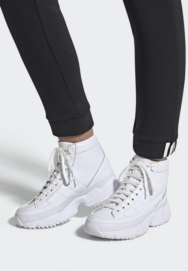 2019-11-15 KIELLOR XTRA SHOES - Høye joggesko - white