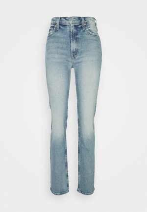 HIGH WAISTED RIDER SKIMP  - Slim fit jeans - light blue