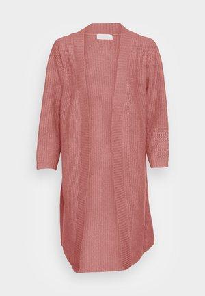 DIDO CARDI LONGLINE BOYFRIEND CARDI - Cardigan - dusky pink
