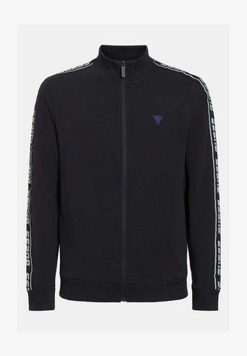 BAND LOGOPRINT - Zip-up sweatshirt - dunkelblau