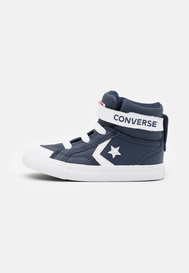 PRO BLAZE STRAP VARSITY UNISEX - High-top trainers - obsidian/white/university red