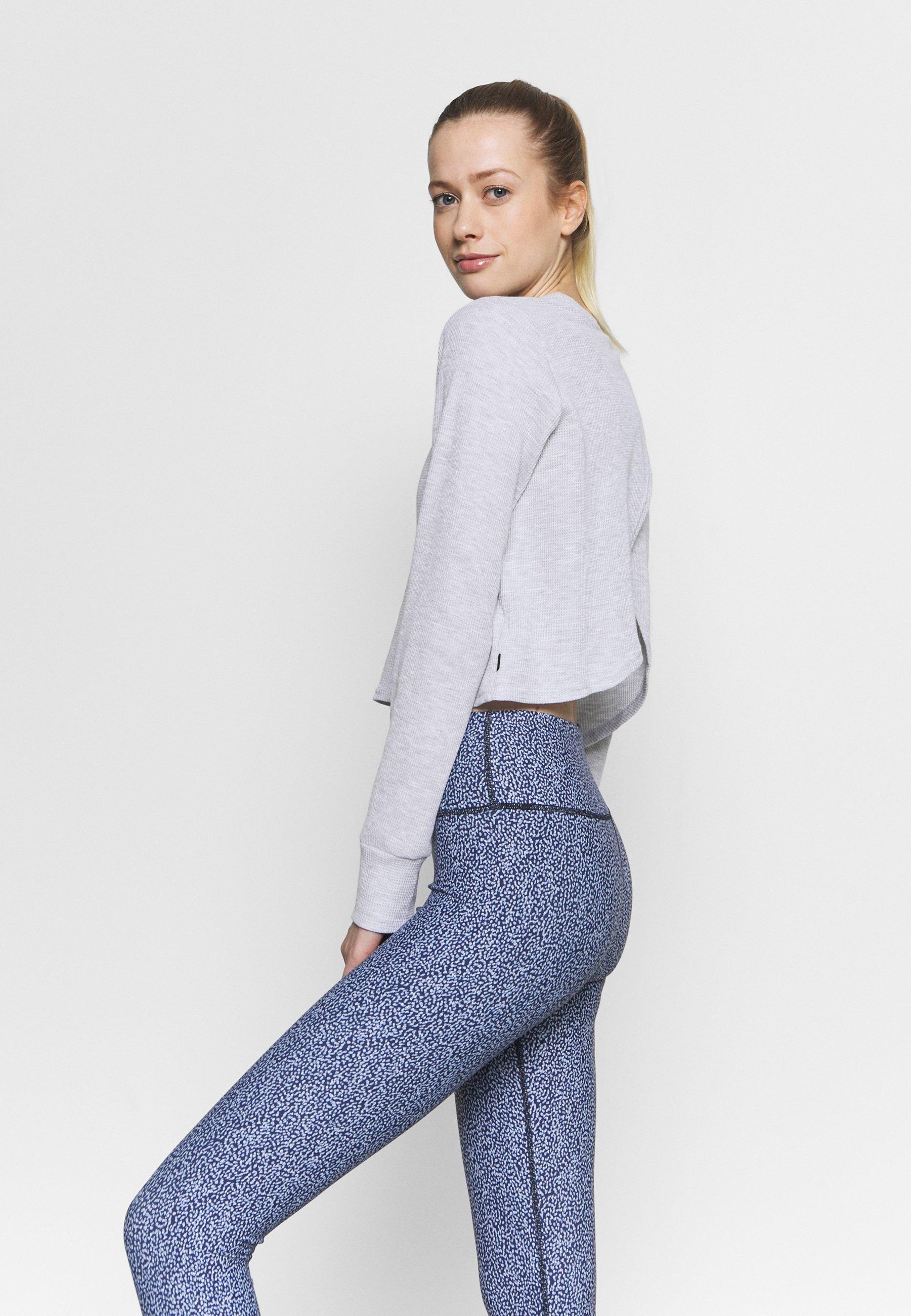 Women CROSS BACK LONG SLEEVE - Long sleeved top