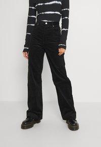 Monki - Trousers - black dark - 0